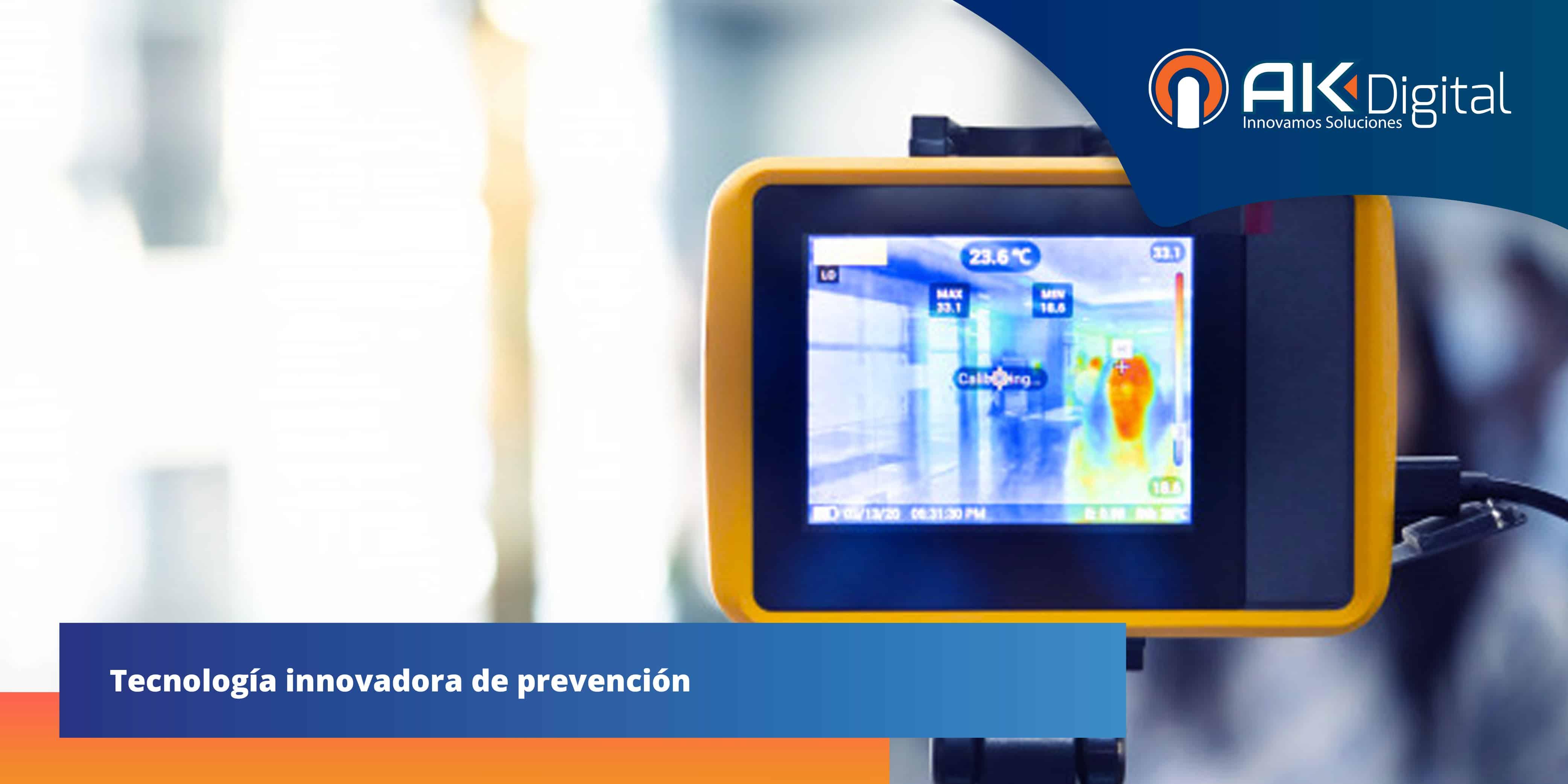 ¿Qué es y cómo funciona una cámara termográfica?