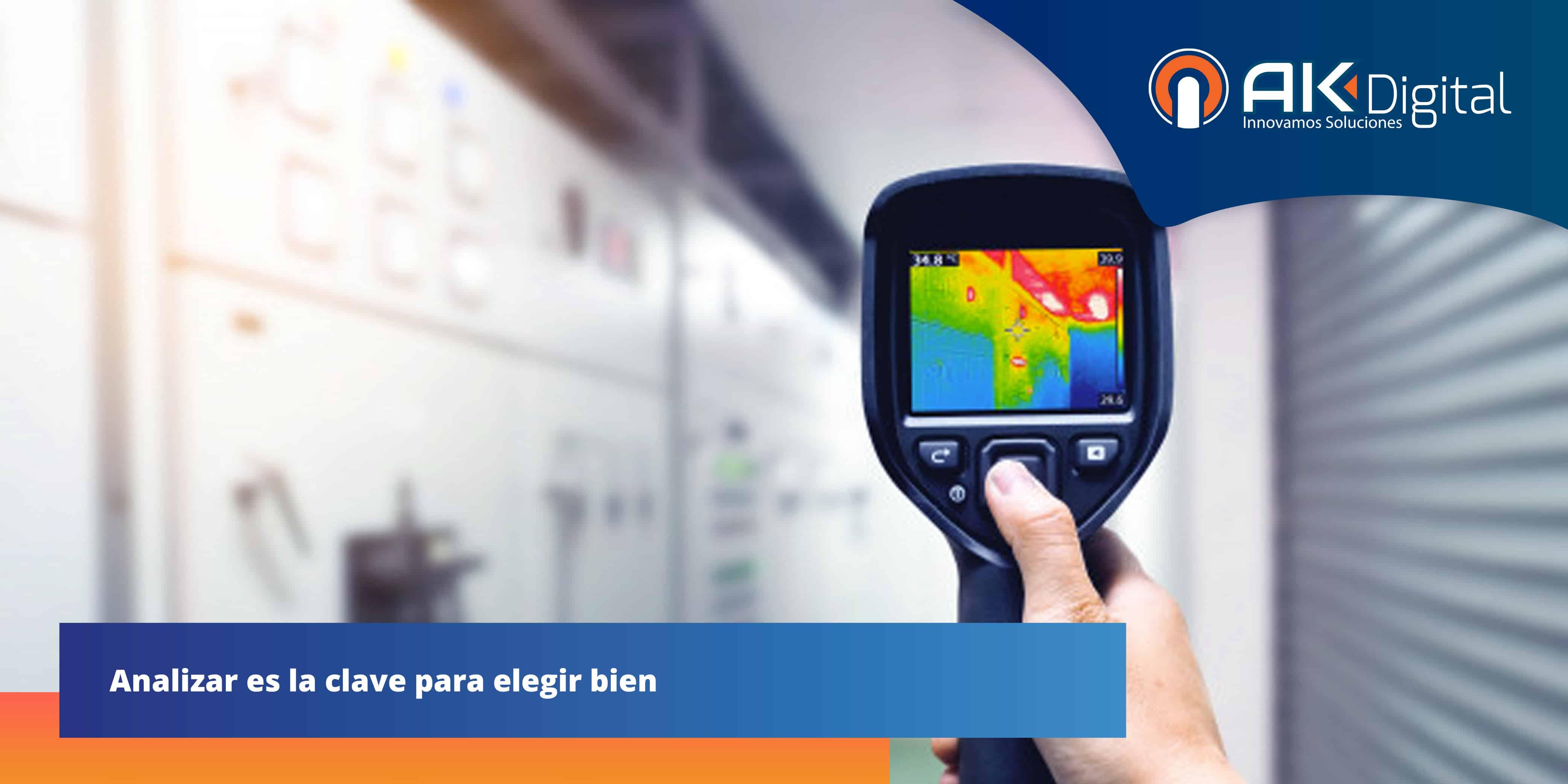 Cámaras termográficas: 5 características clave que debes considerar